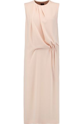 JOSEPH Delila draped crepe midi dress