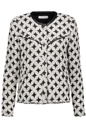 IRO Handi cotton-blend bouclé-tweed jacket