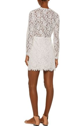 IRO Calix corded lace mini dress