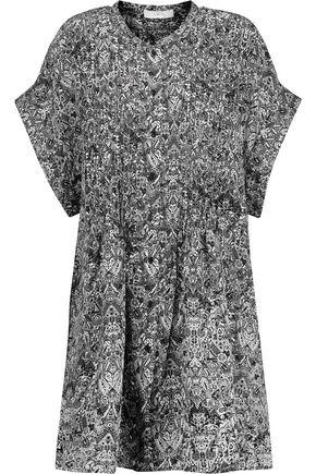 IRO Delilah printed crepe de chine dress