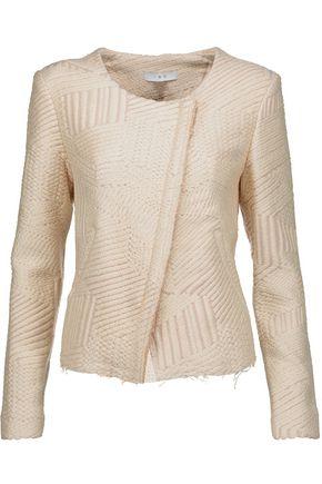 IRO Mepsie metallic jacquard jacket