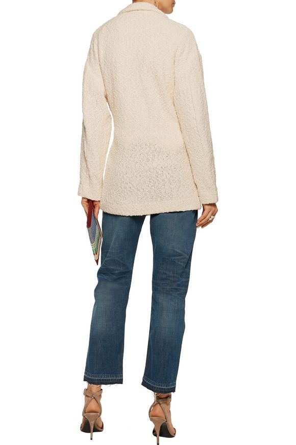 Ombel frayed cotton-blend bouclé jacket | IRO | Sale up to 70% off | THE  OUTNET
