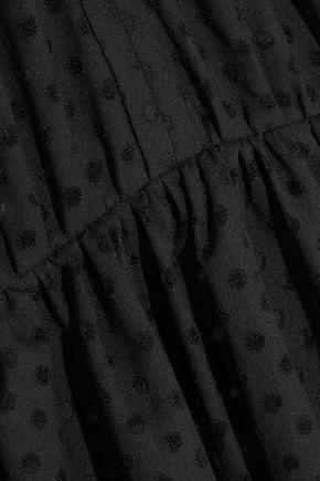 IRO Genna broderie anglaise cotton-blend mini dress