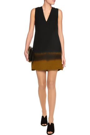 A.L.C. Elliot silk-crepe mini dress