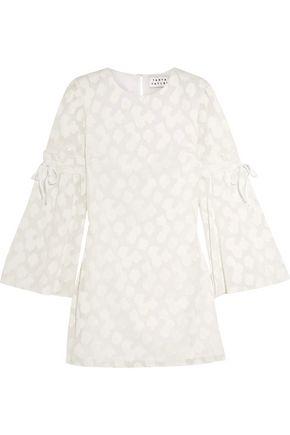 TANYA TAYLOR Irene fil coupé cotton mini dress