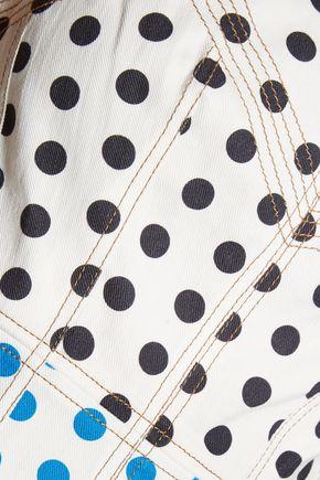 J.W.ANDERSON Polka-dot denim dress