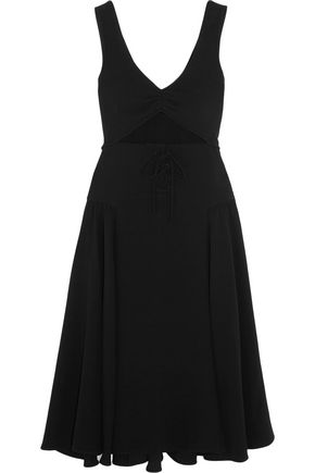 J.W.ANDERSON Cutout crepe dress