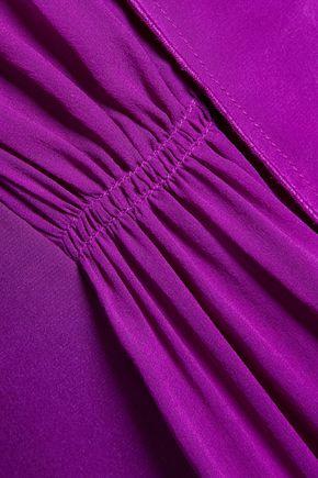 3.1 PHILLIP LIM Pleated silk crepe de chine shirt dress