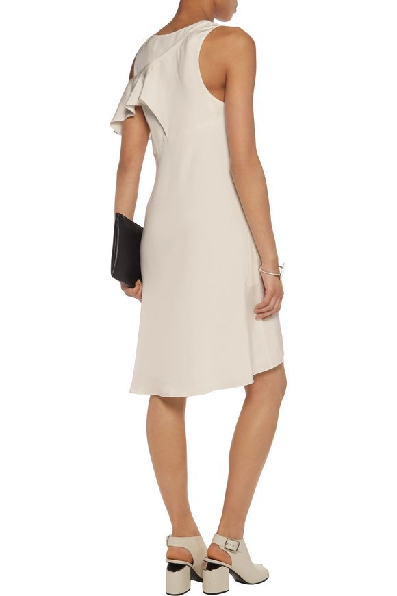 Cutout silk crepe de chine mini dress | 3.1 PHILLIP LIM | Sale up to 70% off  | THE OUTNET