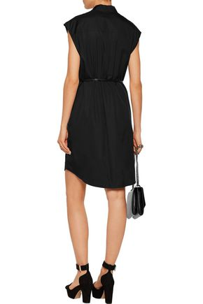 SONIA RYKIEL Paneled cotton-poplin dress