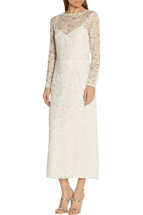 NINA RICCI Corded lace dress