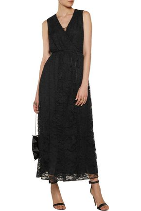 ADAM LIPPES Lace maxi dress