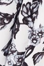 LELA ROSE Floral-print cotton dress