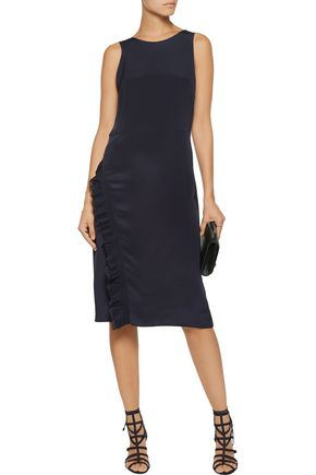 3.1 PHILLIP LIM Ruffled silk crepe de chine dress