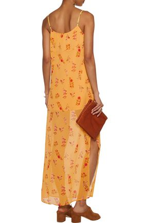 W118 by WALTER BAKER Dakota floral-print chiffon maxi dress
