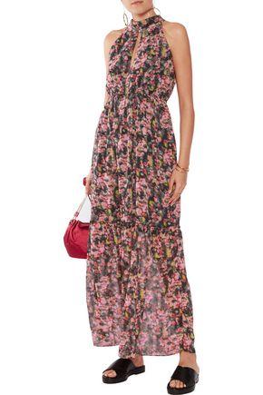 W118 by WALTER BAKER Printed chiffon maxi dress