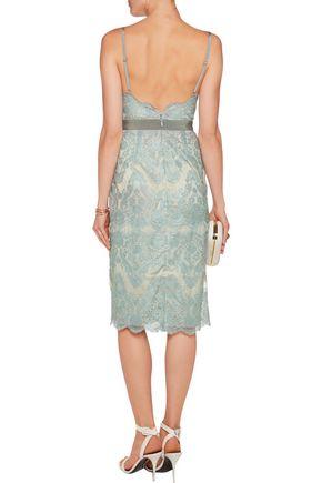 CATHERINE DEANE Helia metallic lace dress