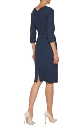 GOAT Bentley wool-crepe dress