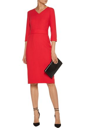 GOAT Bentley wool-crepe dress