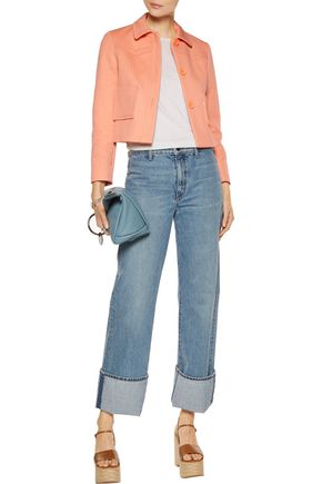 MAJE Vadim cotton-blend twill jacket