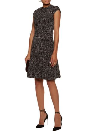 LELA ROSE Blair jacquard dress