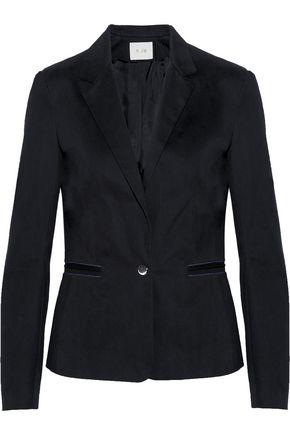 MAJE Ritz brushed cotton-twill blazer