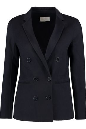 SANDRO Paris Vania wool-blend jacket