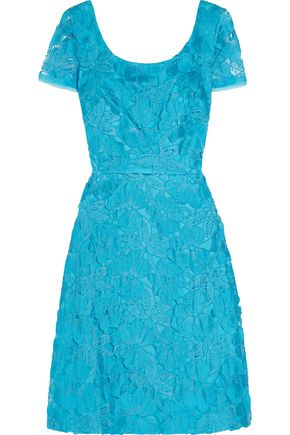 MIKAEL AGHAL Embroidered tulle dress