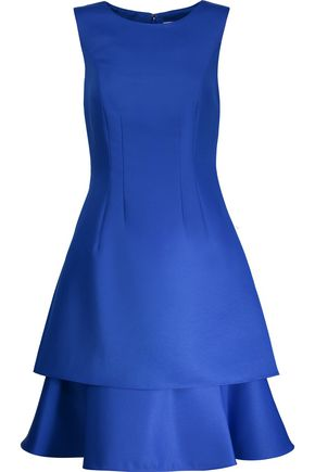 MIKAEL AGHAL Tiered ponte dress