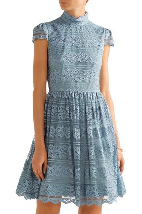 ALICE + OLIVIA Maureen lace mini dress