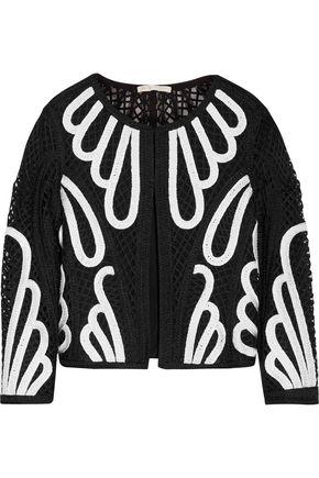 MAJE Velocity macram&eacute lace jacket