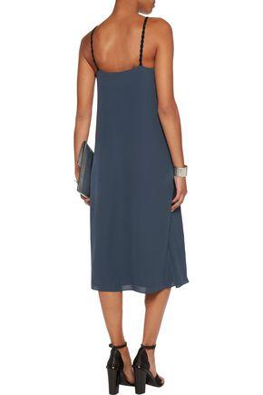 3.1 PHILLIP LIM Draped silk-georgette dress