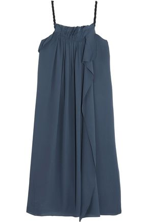 3.1 PHILLIP LIM Draped silk-georgette dress