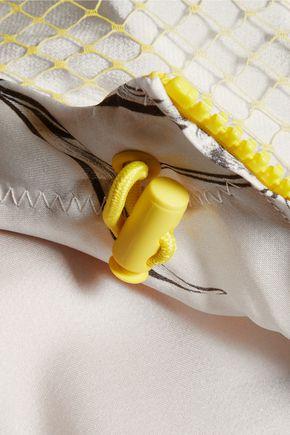 3.1 PHILLIP LIM Printed silk-satin hooded jacket