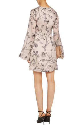 3.1 PHILLIP LIM Printed silk mini dress