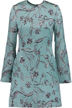 3.1 PHILLIP LIM Printed silk-crepe mini dress ...