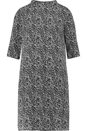 GOAT Alexa printed twill dress