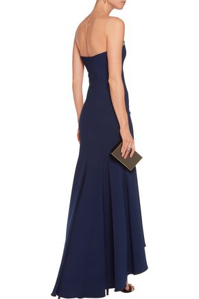 MARCHESA NOTTE Bead-embellished gown