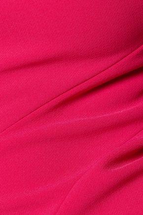 MARCHESA NOTTE Embellished crepe dress