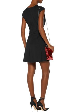 HALSTON HERITAGE Stretch-jersey mini dress