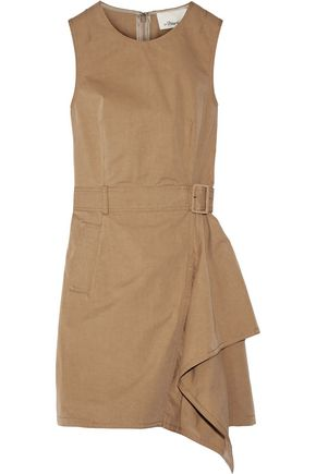 3.1 PHILLIP LIM Belted cotton-twill dress