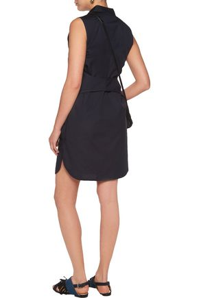 3.1 PHILLIP LIM Cutout cotton-poplin mini dress