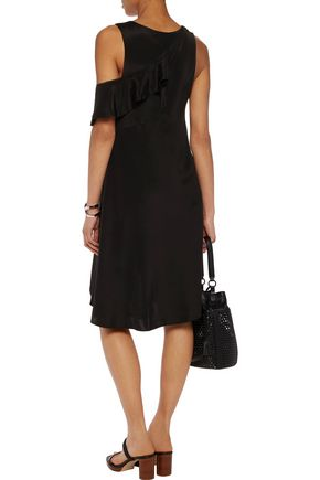 3.1 PHILLIP LIM Cutout silk crepe de chine mini dress