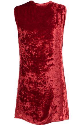 ACNE STUDIOS Rozenne velvet mini dress