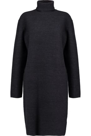 DION LEE Wool turtleneck dress