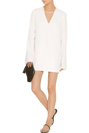 DION LEE Cape-effect stretch-crepe mini dress