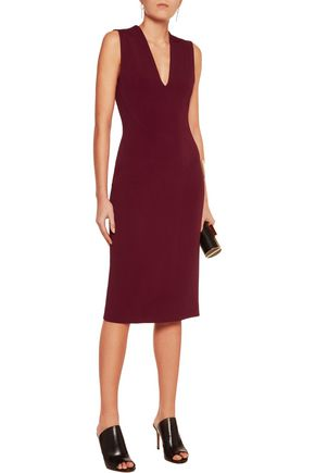 DION LEE Faille midi dress