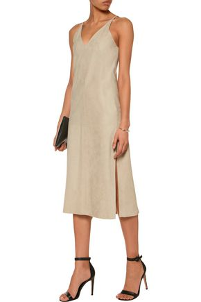 8670413a802 Suede midi dress | THEORY | Sale up to 70% off | THE OUTNET