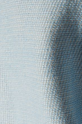 MAJE Gab cotton and linen-blend tweed blazer