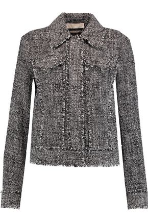 MICHAEL MICHAEL KORS Fringed tweed jacket
